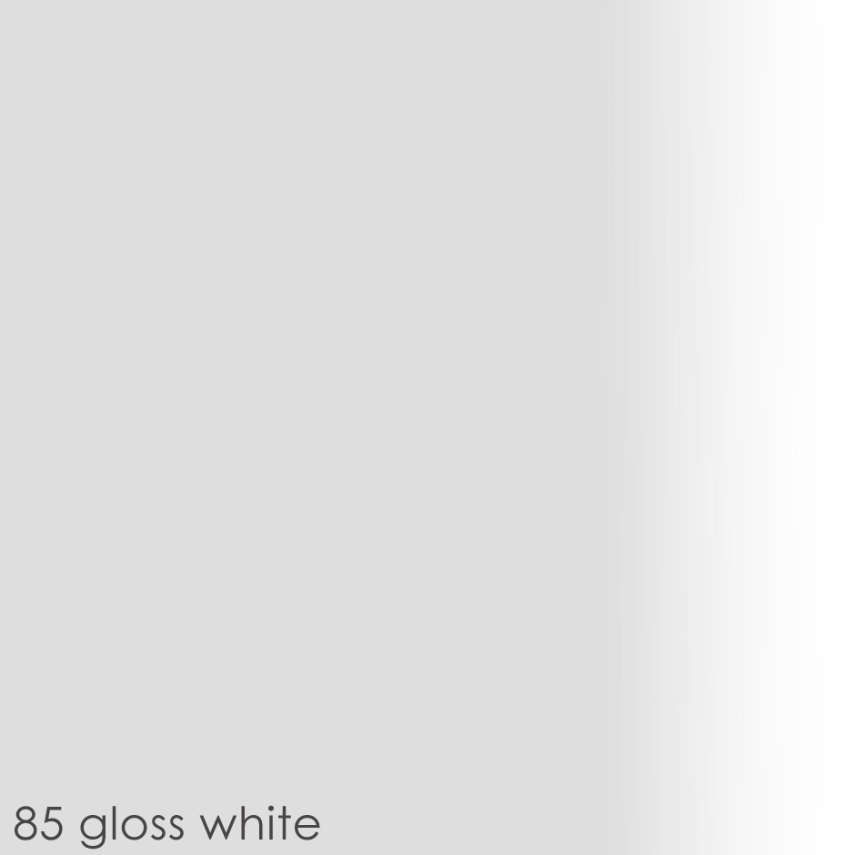 85 gloss white