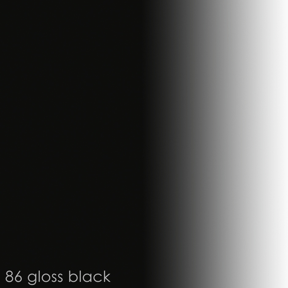 86 gloss black