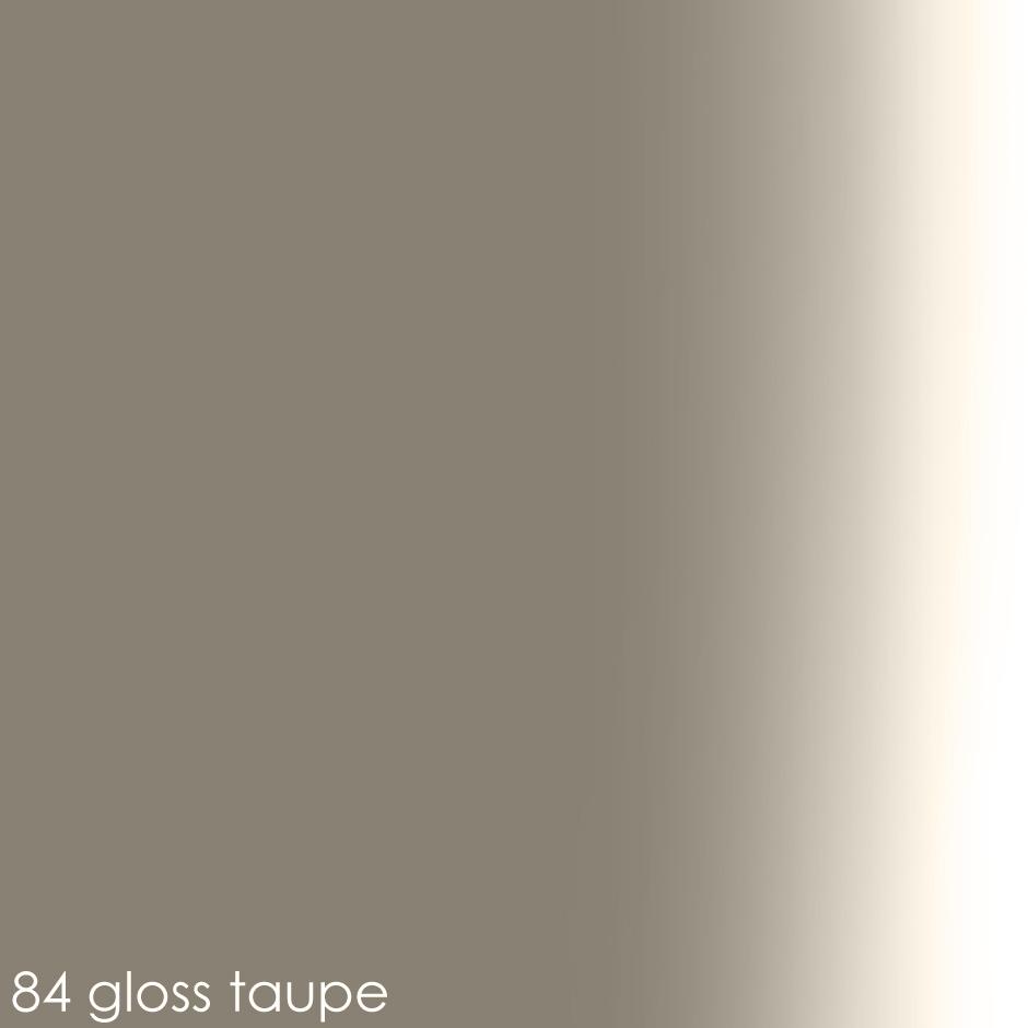 84 gloss taupe